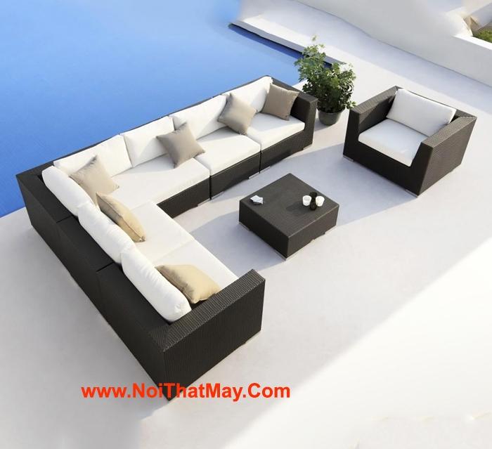 Sofa mây nhựa 131