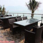 Nhà hàng Con Cá Vàng chọn Minh Thy Furniture là nhà cung cấp bàn ghế giả mây,giường tắm nắng.