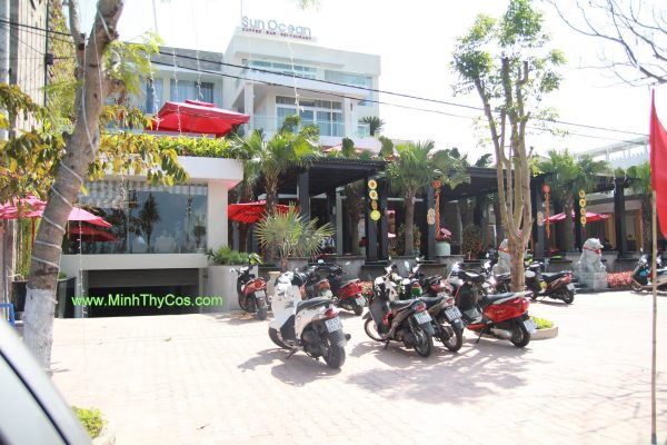 bo ban ghe may Tai cafe SunOcean Da Nang