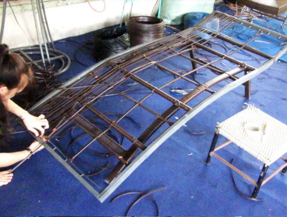 Hướng dẫn tất tần tật từ cơ bản đến nâng cao cách đan ghế hồ bơi MT429 tại xưởng Minh Thy Furniture