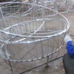 Ra mẫu giường tắm nắng 445 khung nhôm dày 1.2mm tại xưởng cơ khí Minh Thy Furniture