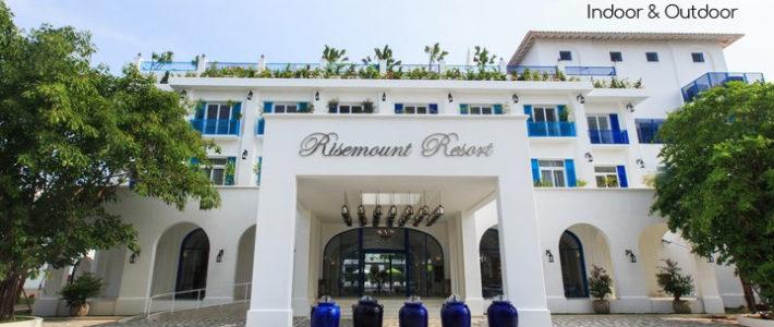 Risemount Resort Đà Nẵng chọn Minh Thy Furniture cung cấp ghế hồ bơi, sofa mây nhựa, bàn ghế cafe