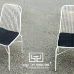 Tạo ra sản phẩm ghế sắt BGS4003 giá rẻ tại xưởng cơ khí Nội thất Minh Thy