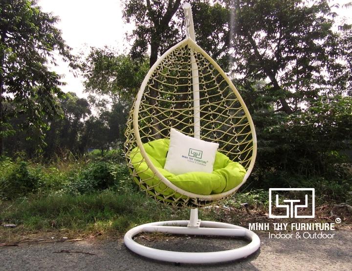 ghế xích đu hình giọt nước MT963
