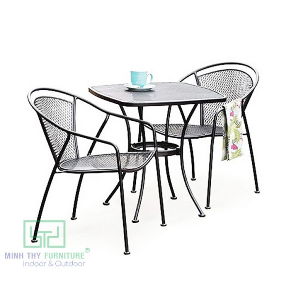ban ghe sat luoi cafe bgs482